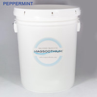 5 Gallon Peppermint Infused Magnesium Recovery Crystals.