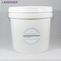 2 Gallon Lavender Infused Calming Magnesium Crystals