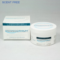 3oz Magsoothium Scent Free Mineral Massage Cream