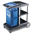 Oates Platinum Compact Housekeeping Cart