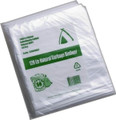 120lt High Density HDPE Natural Bin Liner