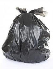 Bin Liner 240lt LDPE Black All Purpose
