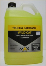 Wild Cat is a Liquid car and truck wash ideally suited to harsh conditions.
