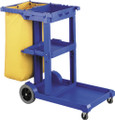 Oates Janitor Cart Blue