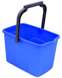360c7439e380c Sabco Square plastic bucket with wire handle.