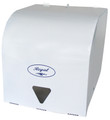 Dispenser Roll Towel White Metal