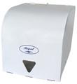 Dispenser Roll Towel White Metal