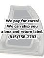Wanted - C5 Roof Cores - We Pay- Shipping on us!!