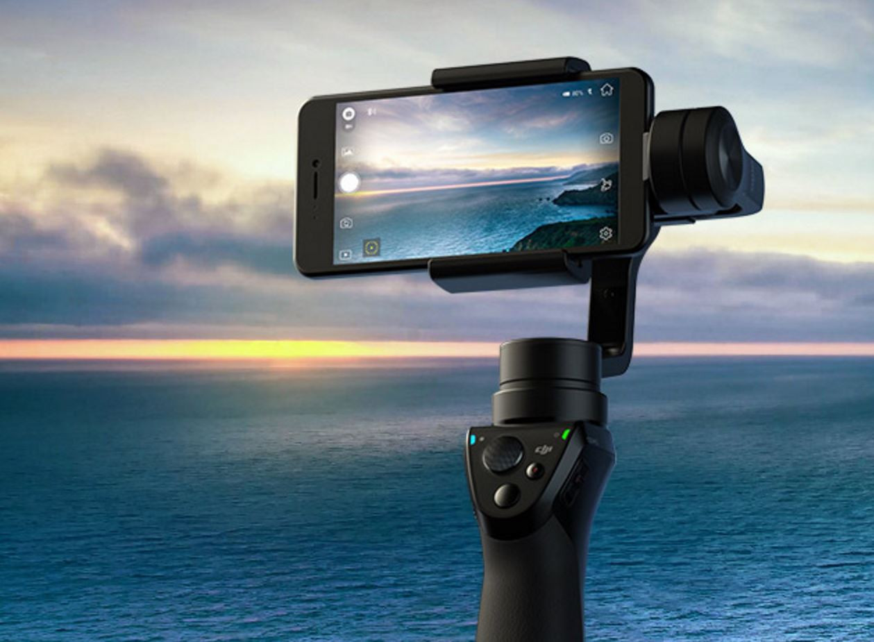 Dji Osmo Mobile Gimbal Stabilized Handle for Phones