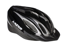 Black/Titanium 12 vented starter helmet