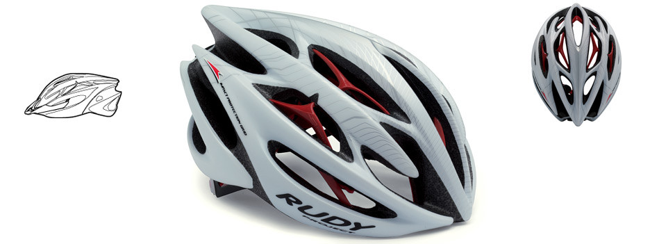 Rudy Project Sterling Helmet White/Silver