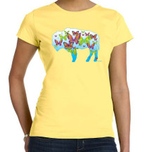 Butterflies,Buffalo NY,Buffalove,Womens Butter T Shirt,Buffalo Treasures,Feel Good Greetings ink