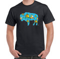Boating,Water sports,Waterfront,Calaside,Buffalo NY,Buffalove,Mens Black T Shirt,Buffalo Treasures,Feel Good greetings ink