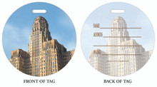 Buffalo City Hall, Luggage tag, ID Tag, Buffalo Luggage Tag, Buffalo ID tag, Buffalo, Buffalo NY