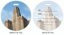Buffalo City Hall, Luggage tag, ID Tag, Buffalo Luggage Tag, Buffalo ID tag, Buffalo, Buffalo NY