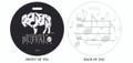 Music, Buffalo Music, Music in Buffalo, Luggage tag, ID Tag, Buffalo Luggage Tag, Buffalo ID tag, Buffalo, Buffalo NY