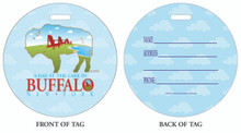 Lake Erie, Buffalo Lakes, Lake Erie near Buffalo, Luggage tag, ID Tag, Buffalo Luggage Tag, Buffalo ID tag, Buffalo, Buffalo NY