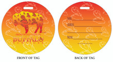 Wings, Chicken Wings, Buffalo Wings, Wings in Buffalo, Buffalo Style, Buffalo Style Wings, Luggage tag, ID Tag, Buffalo Luggage Tag, Buffalo ID tag, Buffalo, Buffalo NY
