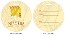 Beer on Tap in Niagara Falls, NY, Niagara Vacation, Niagara Falls, Beer in Niagara Falls, Luggage tag, ID Tag, Niagara Luggage Tag, Niagara ID tag, Niagara Falls, NY