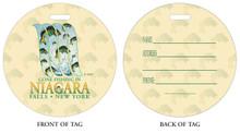 Gone Fishing in Niagara Falls, NY, Niagara Vacation, Niagara Falls, Fishing in Niagara Falls, Luggage tag, ID Tag, Niagara Luggage Tag, Niagara ID tag, Niagara Falls, NY