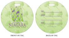 Fine Wine in Niagara Falls, NY, Niagara Vacation, Niagara Falls, Wine in Niagara Falls, Luggage tag, ID Tag, Niagara Luggage Tag, Niagara ID tag, Niagara Falls, NY