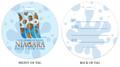 Barrel of Fun in Niagara Falls, NY, Niagara Vacation, Niagara Falls, Fun in Niagara Falls, Luggage tag, ID Tag, Niagara Luggage Tag, Niagara ID tag, Niagara Falls, NY