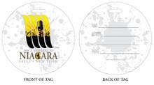 Rock and Roll in Niagara Falls, NY, Niagara Vacation, Niagara Falls, Luggage tag, ID Tag, Niagara Luggage Tag, Niagara ID tag, Niagara Falls, NY