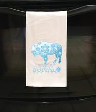 In BUFFALO Four Seasons Tea Towels,Buffalo,Buffalo NY,WNY,Buffalo Art and Artisan Gifts,Buffalo New York