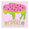 In BUFFALO Four Seasons Tea Coasters,Buffalo,Buffalo NY,WNY,Buffalo Art and Artisan Gifts,Buffalo New York