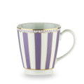 Beautiful fine white china coffee mugs in six different pastel shades. The wonderful 'French style' design is highlighted by 24 K gold trim and lining to create a sophisticated looking product. The Carnivale series is the perfect combination of elegance and functionality with great shape and great capacity. All items are presented in an attractive gift box with gold Noritake logo.Much more than just your average mug the Carnivale mug collection makes a wonderful, inexpensive gift idea - do not settle for anything less!