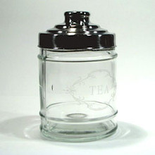 Robert Gordon Glass Storage Jar - Tea