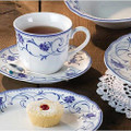 Rhapsody Blue combines the sophistication of elegant dining with the versatility of being chip-resistant, dishwasher & microwave safe - making it ideal for both formal and casual dining occasions. The Giftboxed 20pce Set contains: 4 x Tea Cup 4 x Saucer 4 x 21cm Entree Plate 4 x 27cm Dinner Plate 4 x Soup/Cereal Bowl