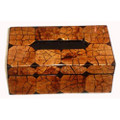 Tissue Box with Coconut Inlay