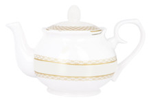Ashdene Madame Butterfly Teapot W/Infuser - Bone China