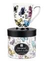 Ashdene Fe Le Jarden Fleur Mug  Butterflies