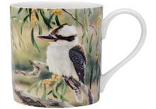 Ashdene Australian Bird & Flora Kookaburra Mug
