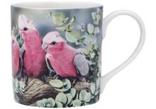 Ashdene Australian Bird & Flora Mug- Galah & Eucalyptus