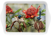 Ashdene Bird & Flora Blue Wren & Waratah Scatter Tray