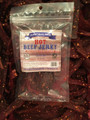 HOT BEEF JERKY 3.25 OZ BAG