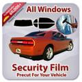 Honda Accord 4 Door 1986-1989 Precut Security Tint Kit