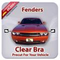 BMW 3 SERIES SEDAN 2012-2013 Fenders Only Clear Bra