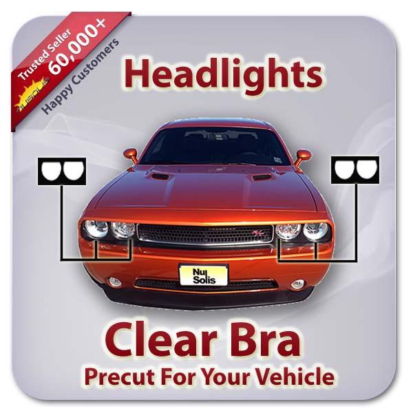 Porsche CAYENNE GTS 2011-2013 Clear Headlight Covers