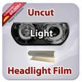 Uncut Headlight Tint - Light Black