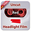 Uncut Headlight Tint - Red