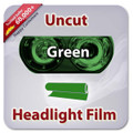 Uncut Headlight Tint - Green