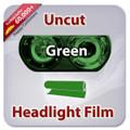 Uncut Headlight Tint - Green
