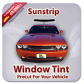 Precut Sunstrip Tint Kit for Acura Legend 4 Door 1988-1990