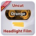 Uncut Headlight Tint - Orange