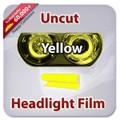 Uncut Headlight Tint - Yellow