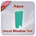 Uncut Colored Window Tint Film - Aqua